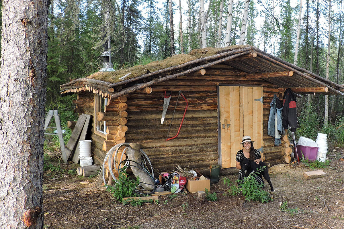 Simon Tourigny and several others have built cabins outside of Dawson City. (Simon Tourigny/Submitted)